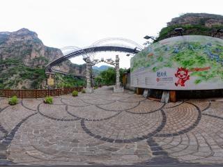 北京—延庆龙庆峡风景区景区分布图