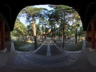 孔庙大门全景