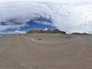西藏—纳木错湖畔