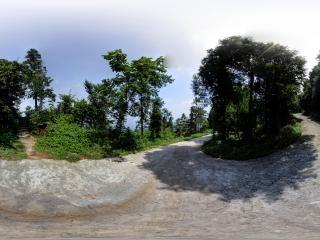 大薤山景区—神农洞全景