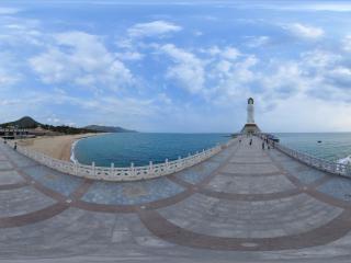 海上观音全景