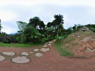 云南—西双版纳基诺山寨村子入口