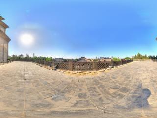 陕西—西安大雁塔西侧