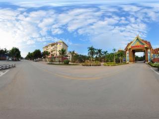 傣族园入口