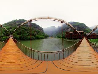 青天河吊桥