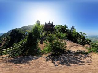 安徽—池州一揽亭全景