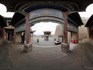 甘肃—嘉峪关关城内古建筑