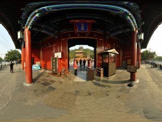 北京—西城景山公园南门