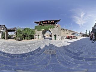 古城墙全景