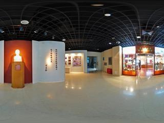展厅雕塑全景