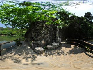 天星湖全景
