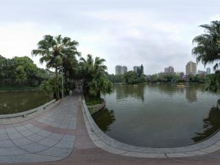 东秀湖全景