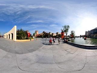 北京—北京欢乐谷地铁口广场