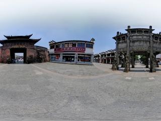 许国石坊全景
