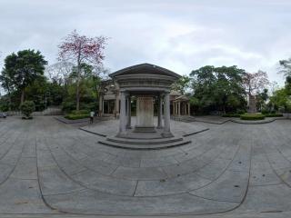 伍廷芳墓碑全景