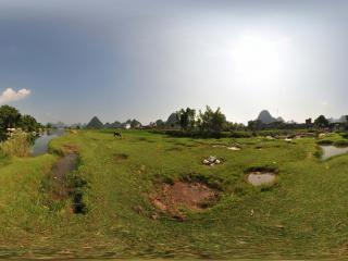 桂林山水全景