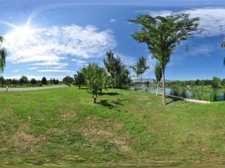 稻香湖全景