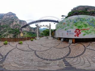 北京—延庆龙庆峡风景区分布图