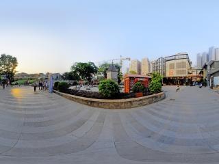 文津古玩城入口全景