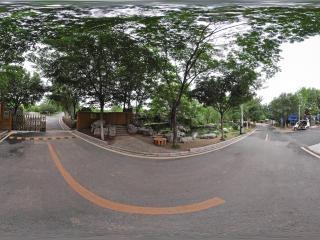 公园入口全景