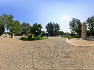比萨斜塔全景