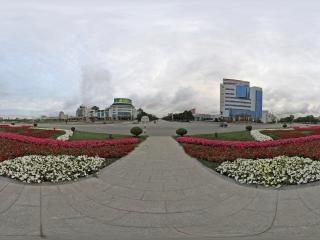 嘉峪关市的雄关广场