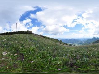 白草畔全景