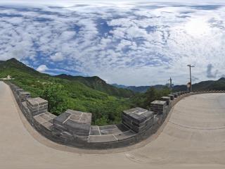 百花山全景