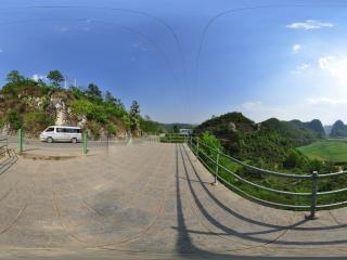 龙宫景区全景