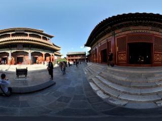 北京—雍和宫内万福阁