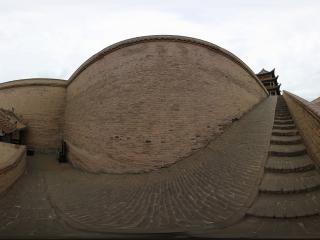 城墙上下的台阶