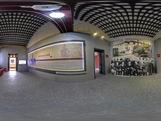 五展厅走廊全景