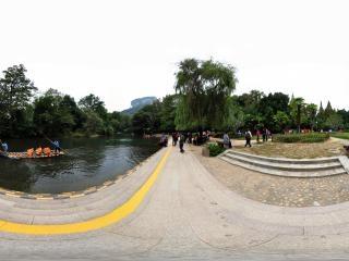 九曲溪漂流全景