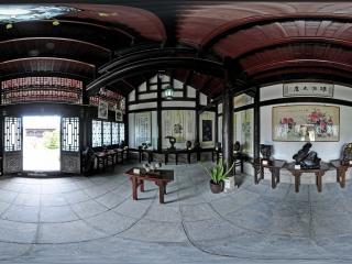 龙泉寺书画、石雕全景