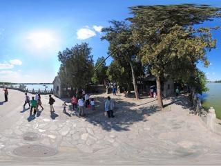 南湖岛全景