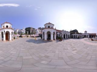 婚礼广场中心