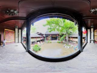古戏台全景