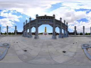张掖大佛寺虚拟旅游