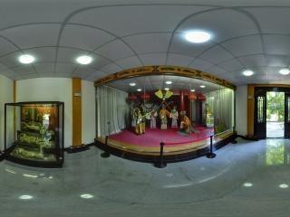 蜡像馆内部