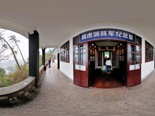 杨虎城纪念馆外