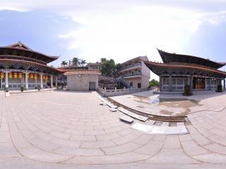 佛殿建筑全景