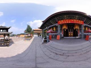 气派的佛殿全景
