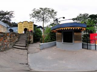 香山别墅台下