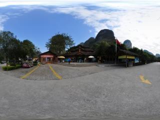 图腾古道景区全景