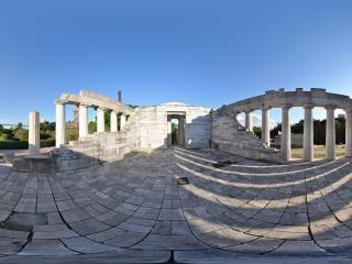 雅典卫城内部景观
