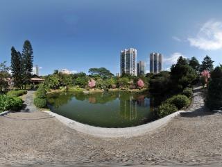 桂离宫水池