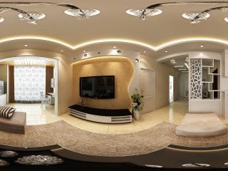 四川—泸州现代客厅展示全景