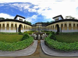 西班牙阿尔罕布拉宫狮子院