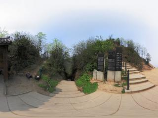 龙泉山入口全景