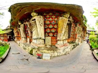华严三圣像